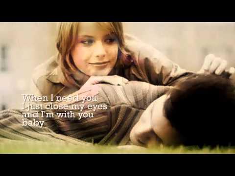 James Ingram - When I Need You (w/ lyrics)