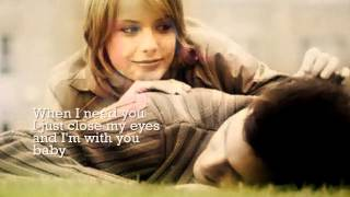 James Ingram - When I Need You (w/ lyrics)