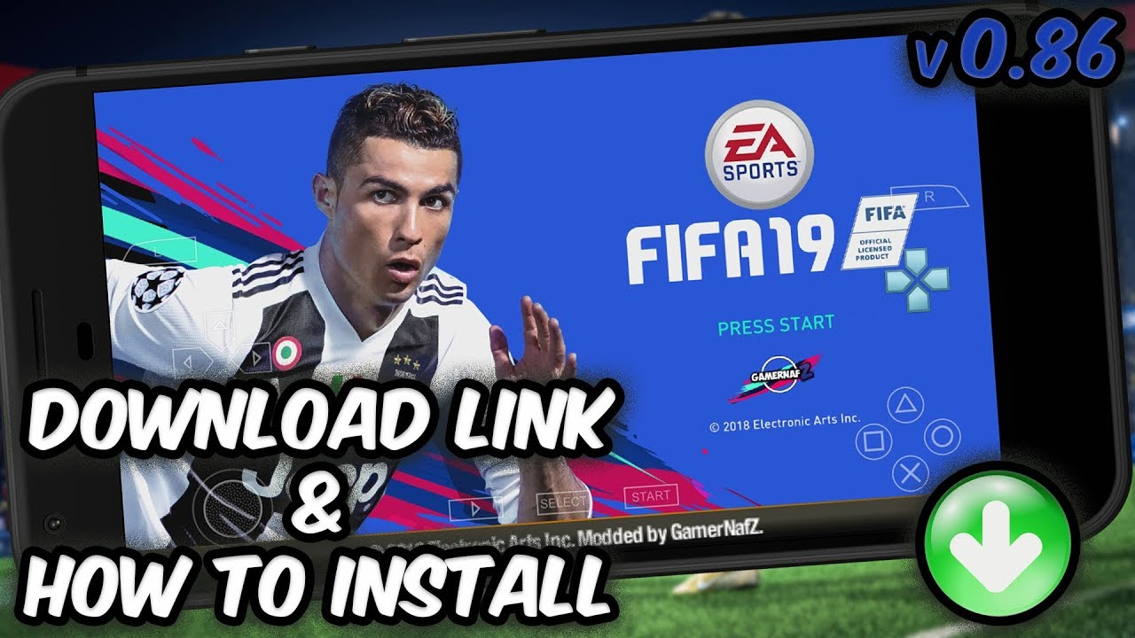 FIFA 19 PPSSPP Iso Android Offline Latest Update - RisTechy