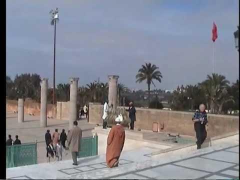 MAUSOLEUM of MOHAMMAD V RABAT  MOROCCO