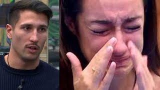 El broncazo final de Adara y Gianmarco en su despedida de El tiempo del descuento