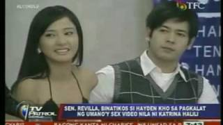vuclip Philippines very own Edison Chen - Katrina Halili - Hayden Kho sex video scandal