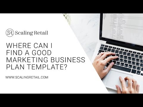 Where Can I Find A Good Marketing Business Plan Template Youtube