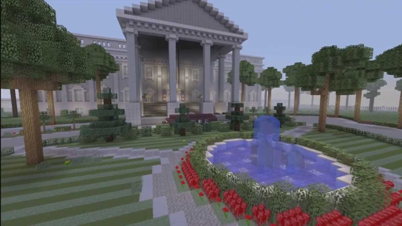 Minecraft Xbox  FullScale Washington DC Download YouTube - Washington dc map download