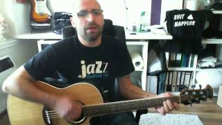 Patrick Lemm singt Another cup of coffee - Mike and the mechanics acoustic cover