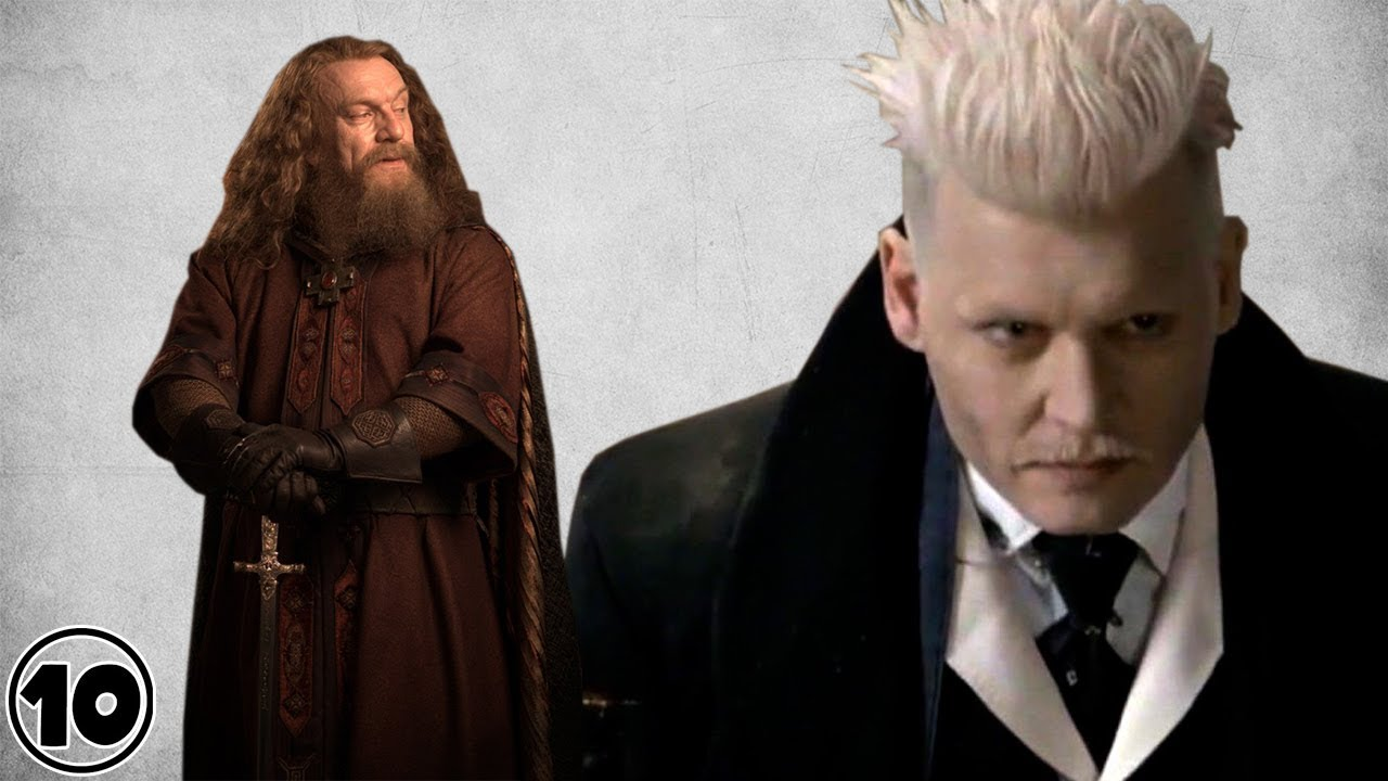 Top 10 harry potter most powerful wizards and witches for Strongest wand in harry potter