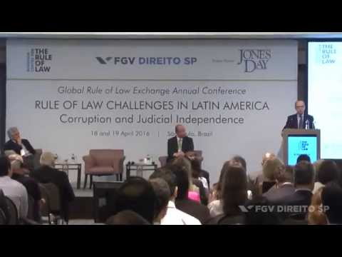(Conference: Rule of Law Challenges in Latin America) Welcome and opening comments
