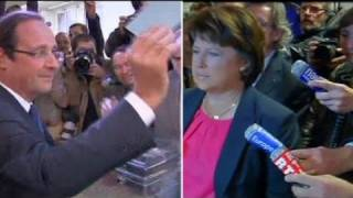 Hollande leads French left