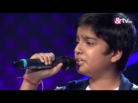 Tejas Kar - Blind Audition - Episode 2 - July 24, 2016 - The Voice India Kids