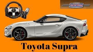 Toyota Supra - обзор, тест драйв City Car Driving