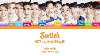 [nct 127] switch (feat. sr15b) 2018/03/22 colors: light violet – taeil (moon taeil) tan hansol (ji hansol) blue johnny (seo youngho) cherry taeyo...