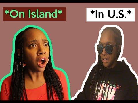 VI People On Island vs VI People In The US | CaribbeanSlim