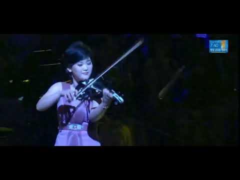North Korea Girls Perform in PyeongChang 2018 - Electric Strings (violin,viola,cello)