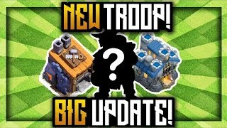 TOTAL INFORMATION OF CLASH OF CLANS NEW UPDATE,NEW TROOP NEW TH,BH AND MUCH MORE (HINDI)SAM1735