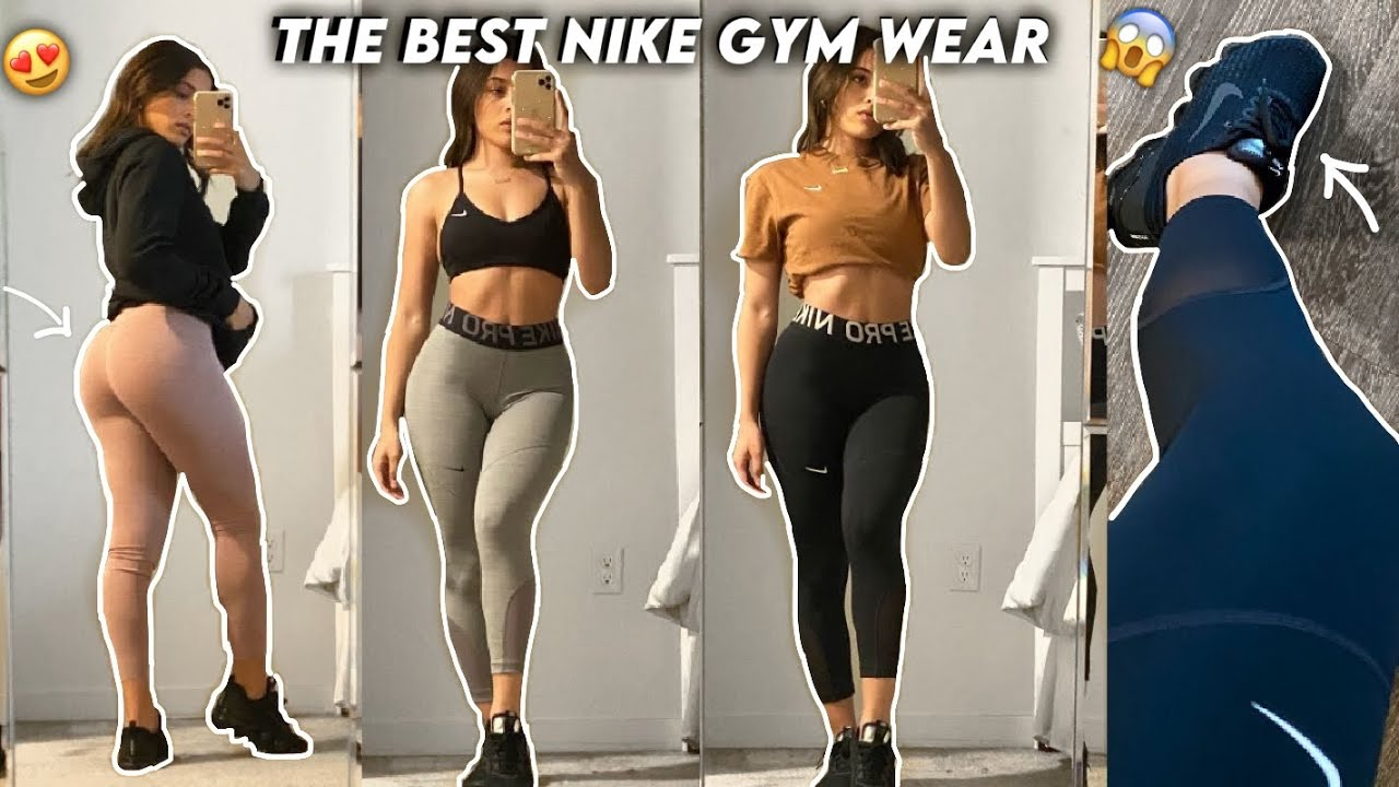 MY GYM MUST HAVES FROM NIKE | FITNESS FAVORITES