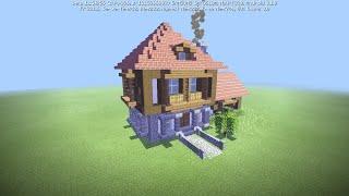 Tutorial Casa Medieval Minecraft Cidade Medieval #1