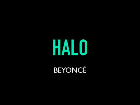 Beyoncé - Halo Karaoke Instrumental Lyrics On Screen LOWER KEY SLOWER