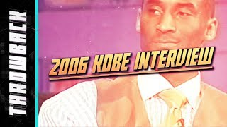 Kobe Bryant 2006 Full Interview ESPN with Stephen A. Smith | Throwback