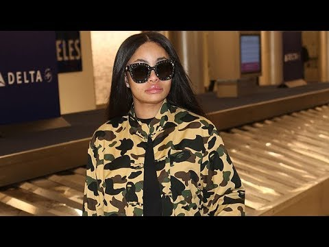 Blac Chyna Returns To LA After Calling Kim Kardashian A