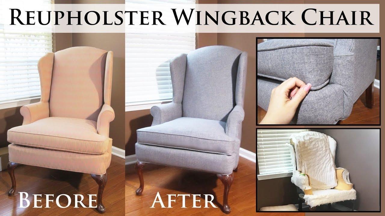 Change Chair Fabric Tutorial