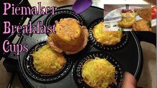 Breakfast Cups Piemaker Budget Recipe cheekyricho tutorial