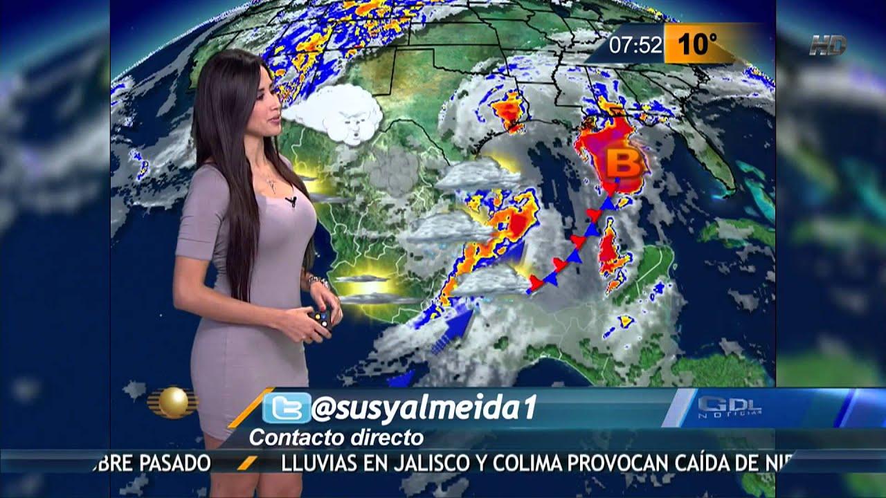 Susana almeida pronostico del tiempo 12 de marzo de 2015 for Pronostico del tiempo accuweather