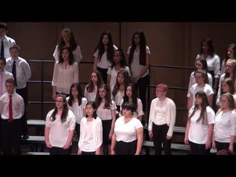 8th Grade Choir 5.12.18 Music a la Mode