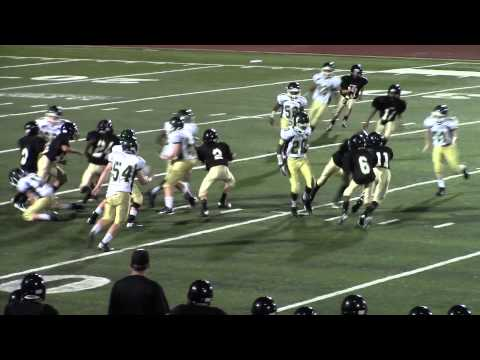 Jaden Hudgins #2 DB McAdory Middle School Football 7th Grade 2014 C/O 2020