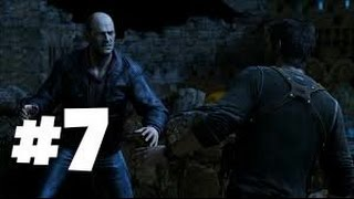 Uncharted 3 Drakes Deception Walkthrough (PS4) Part 7 - Cutter