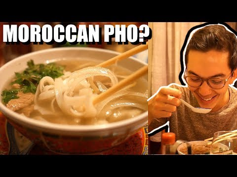 SOMEONE KNOWS ME IN MOROCCO? Vietnamese Moroccan Food?!