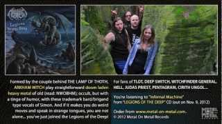 """ARKHAM WITCH """"Infernal Machine"""" (taken from the album """"Legions Of The Deep"""")"""