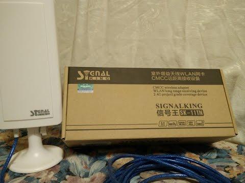 SignalKing SK 11TN 58Dbi Ralink 3070 (instal and test)