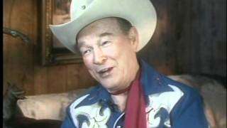Roy Rogers and Rearing Trigger