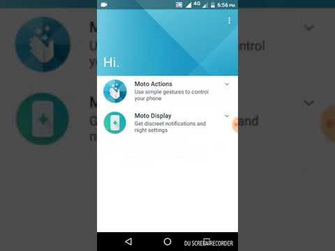 How to shrink the screen of Moto e4 plus