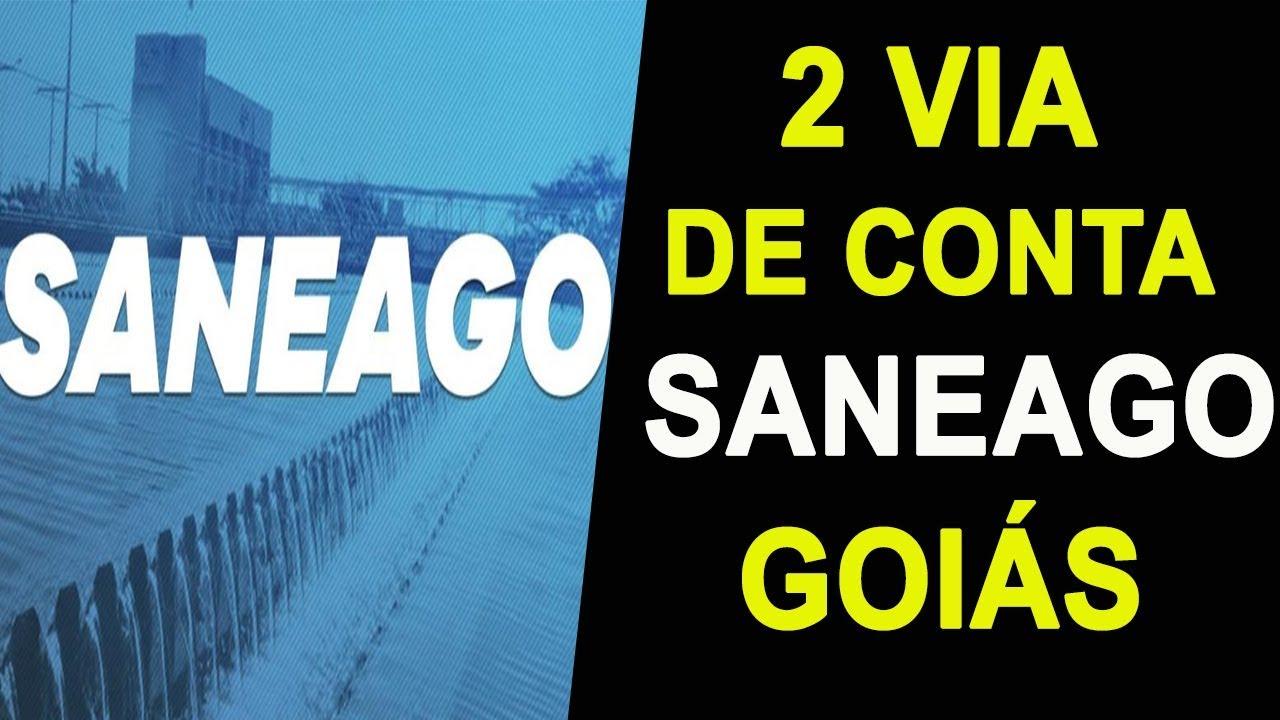 Saneago 2 Via Tirar A Segunda Via Saneago Go De Contas