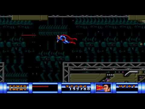 Superman - Sunsoft 1992 - Sega Genesis - Round 5 (part 1)