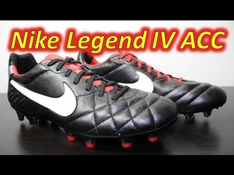 new style f3477 2d5b1 Nike Tiempo Legend IV ACC Black/Challenge Red - UNBOXING