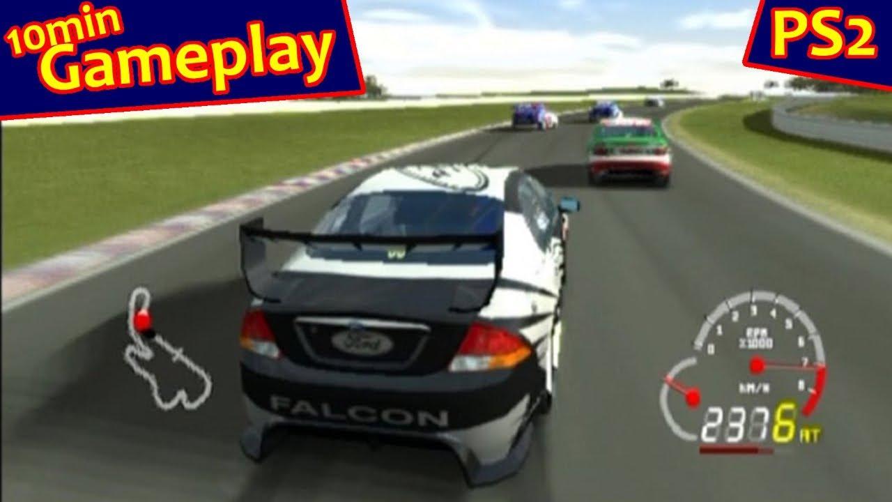 V8 Supercars Australia Race Driver Ps2 Youtube