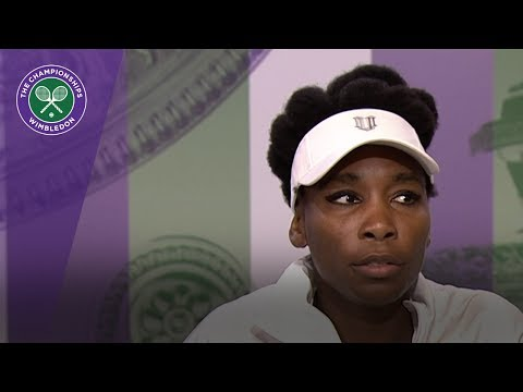 Venus Williams Wimbledon 2017 first round press conference