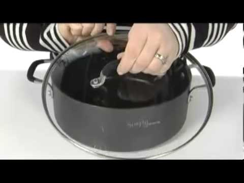 Calphalon Simply Calphalon 5 Qt Chili Pot Sku8062214 Youtube