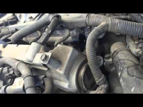 2005 Kia Amanti fuel rail pressure regulator removed