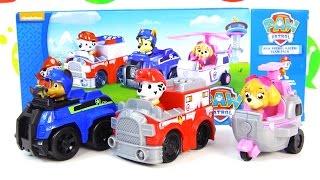 Машинки Щенячий патруль: Маршал, Гончик и Скай