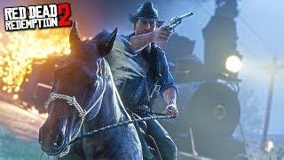 ПЕРВОЕ ОГРАБЛЕНИЕ ПОЕЗДА! (Прохождение: Red Dead Redemption 2)