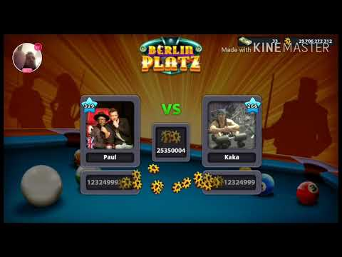 Berlin Platz Live With Commentary. Direct 8 Ball Pool  (Miniclip)