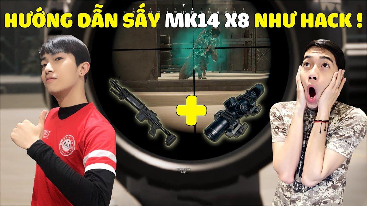 CrisDevilGamer HƯỚNG DẪN SẤY MK14 NHƯ HACK trong PUBG