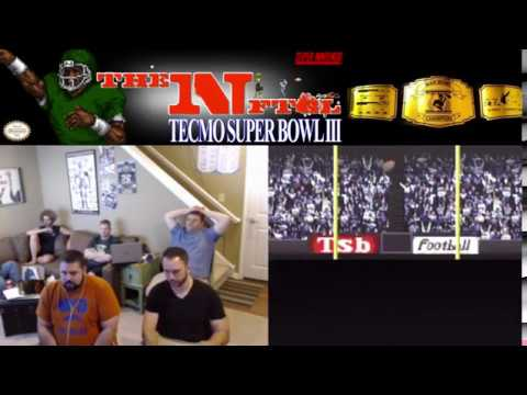 NFTGL 18 Episode 6 Minnesota Vikings vs Chicago Bears Tecmo Super Bowl III 1995