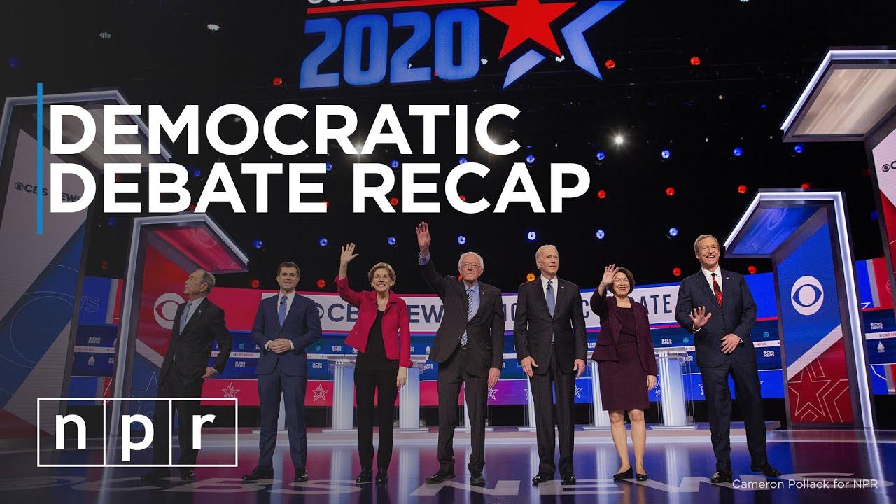 South Carolina Democratic Debate Recap | 2020 Election | NPR Politics