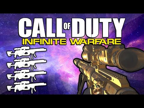 Quad Feed with Every Gun! (Call of Duty: Infinite Warfare)