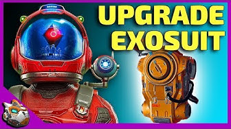 How To Upgrade Exosuit Inventory Slots Fast   No Man's Sky Beyond Update 2019