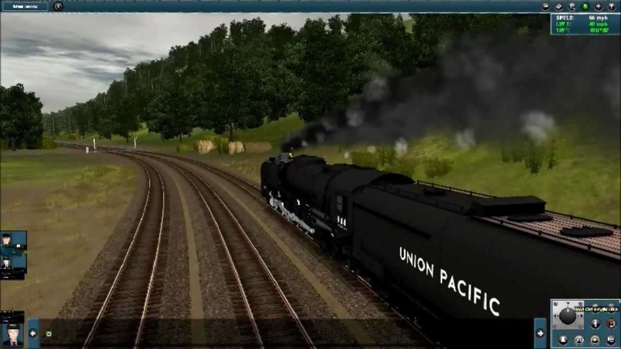 Trainz 12 Union Pacific 844 - YouTube